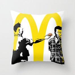 VOMIT Execution Throw Pillow