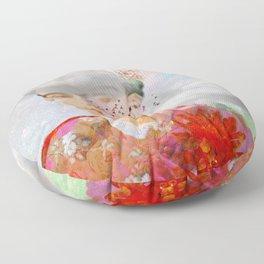 The essence of Frida Floor Pillow