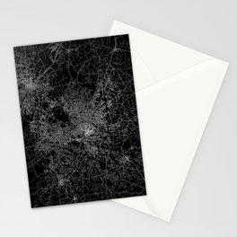 raleigh map north carolina Stationery Cards