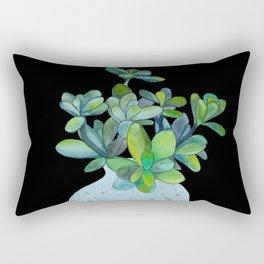 Succulent in a Vase Rectangular Pillow