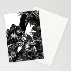 The Riot : Crows Stationery Cards