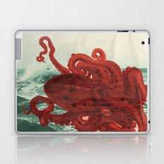 Octopus Beach Laptop & iPad Skin