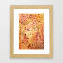 Sirenita Framed Art Print