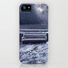 Frozen Space iPhone Case