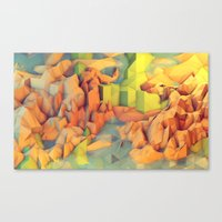 island Canvas Prints featuring Vacation Island by Timothy J. Reynolds