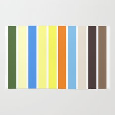 The colors of - to to ro Rug