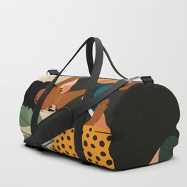 Stay Home No. 1 Duffle Bag