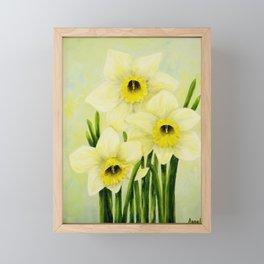 Spring Daffodils Framed Mini Art Print