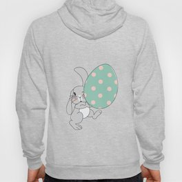 Bunny with Easter Egg Hoody