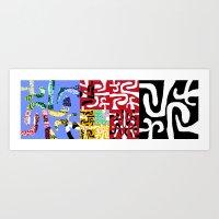 matisse Art Prints featuring Matisse by DARWIN STEAD