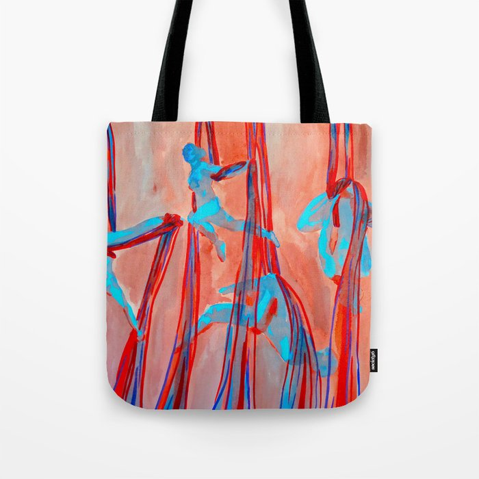 Aerial Quartet Tote Bag