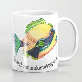 H is for Humuhumunukunukuapua'a Coffee Mug