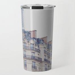 Paris photography, Eiffel tower, Saint-Germain-des-Prés, Paris architecture, boulevard Travel Mug