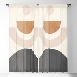 Geometric Abstract 86 Blackout Curtain
