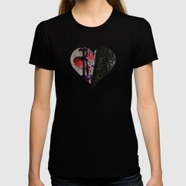 Urban tree with red leaves T-shirt