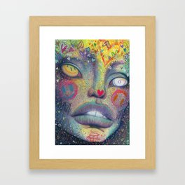 l.S.d Framed Art Print