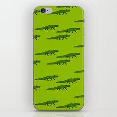 Alligators-Green iPhone & iPod Skin