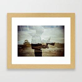 Wishing to fly Framed Art Print