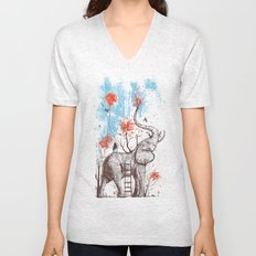 A Happy Place Unisex V-Neck