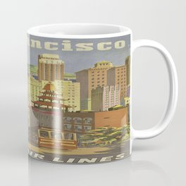 Vintage poster - San Francisco Coffee Mug