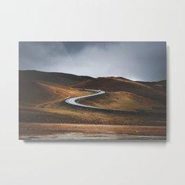 Swinging Road Metal Print