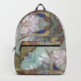 Vintage Plated Backpack