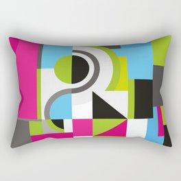 Creative Geometric Design Rectangular Pillow