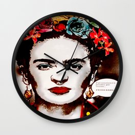 Art & Frida Kahlo Wall Clock