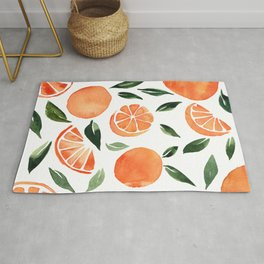 Summer oranges Rug