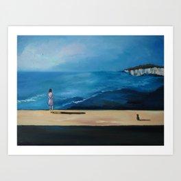 Lonely Little Planet Art Print