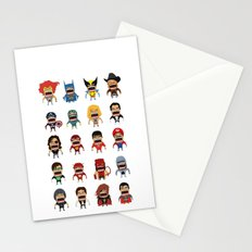 Screaming Heroes Stationery Cards