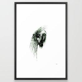 Most evil femme demon Framed Art Print
