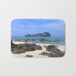 Tropical island Bath Mat