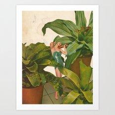 FOLIAGE Art Print