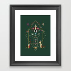 the last emperor Framed Art Print
