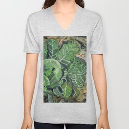 cabbage Unisex V-Neck