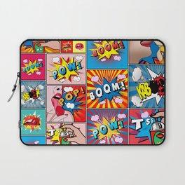 comics college Laptop Sleeve