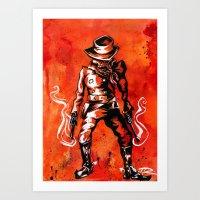 western Art Prints featuring Western by Tom Ryan
