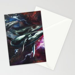 I love the human being, the sea, and the ship Stationery Cards