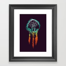 Dream Catcher (the rustic magic) Framed Art Print