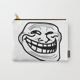 Funny trollface illustration Carry-All Pouch
