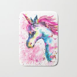 Pink Unicorn Bath Mat