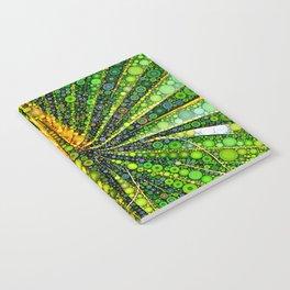 Mexican Fan Palm Leaf Notebook