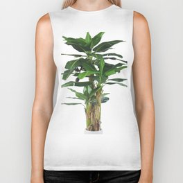 TROPICAL GREEN1 Biker Tank