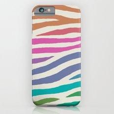 wildlife dreamcoat - zebra 1 iPhone 6s Slim Case