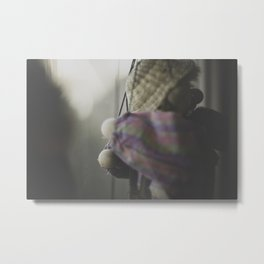 Clown Puppet Metal Print