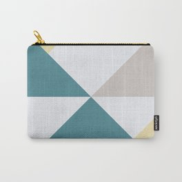 geometric 13 Carry-All Pouch