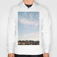 sunrise Hoodies featuring Sunrise by Rose Etiennette