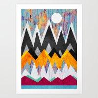 wonderland Art Prints featuring Wonderland by Elisabeth Fredriksson