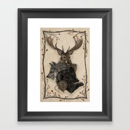 Marauders Framed Art Print